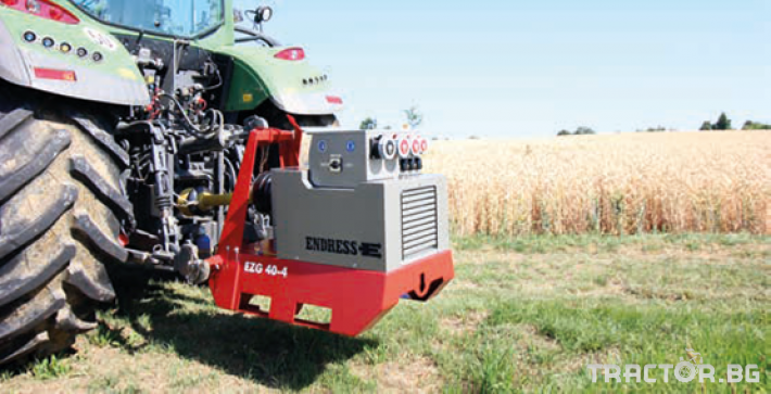 Части за инвентар Генератор - Немски ENDRESS 0 - Трактор БГ