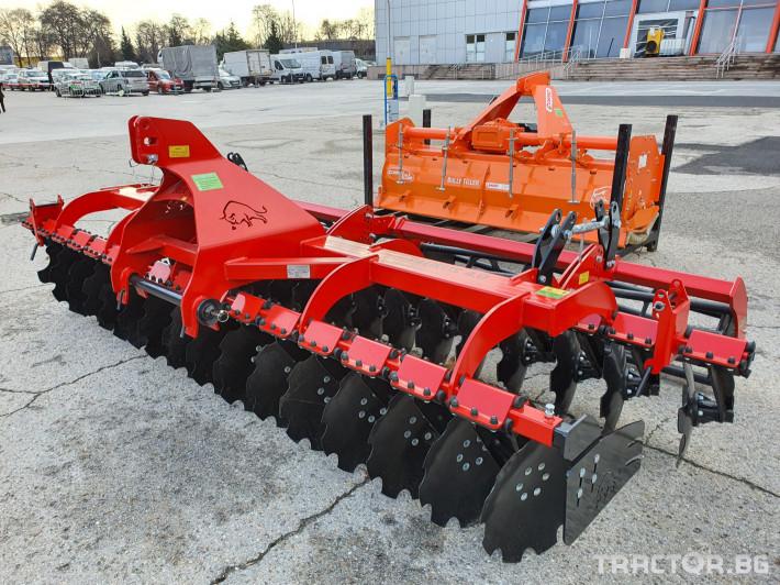 Брани брана-друга Дискова брана - 4.0 м. Rolex, Полша 2 - Трактор БГ